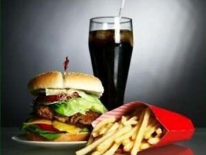 Cheeseburger and Coke