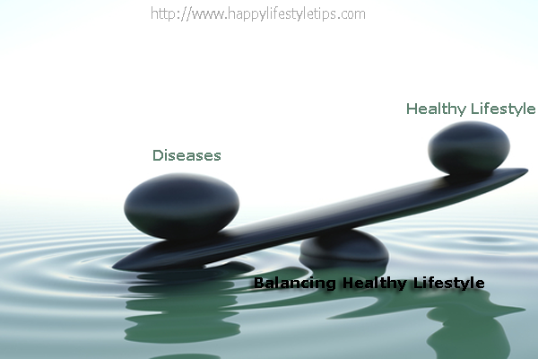 Healthy Lifestyle-Balancing