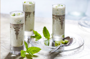 Butter Milk with Mint