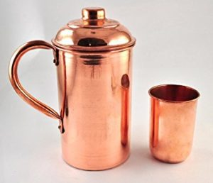Health benefits of drinking water in copper vessel